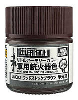 Woodstock Brown (цвет оружейного дерева) 10 мл. Краска для моделей оружия. MR. HOBBY LAC02