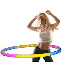 Хулахуп обруч масажний Hula Hoop Profi MS-0088 з м'якими кульками діаметр 99 см