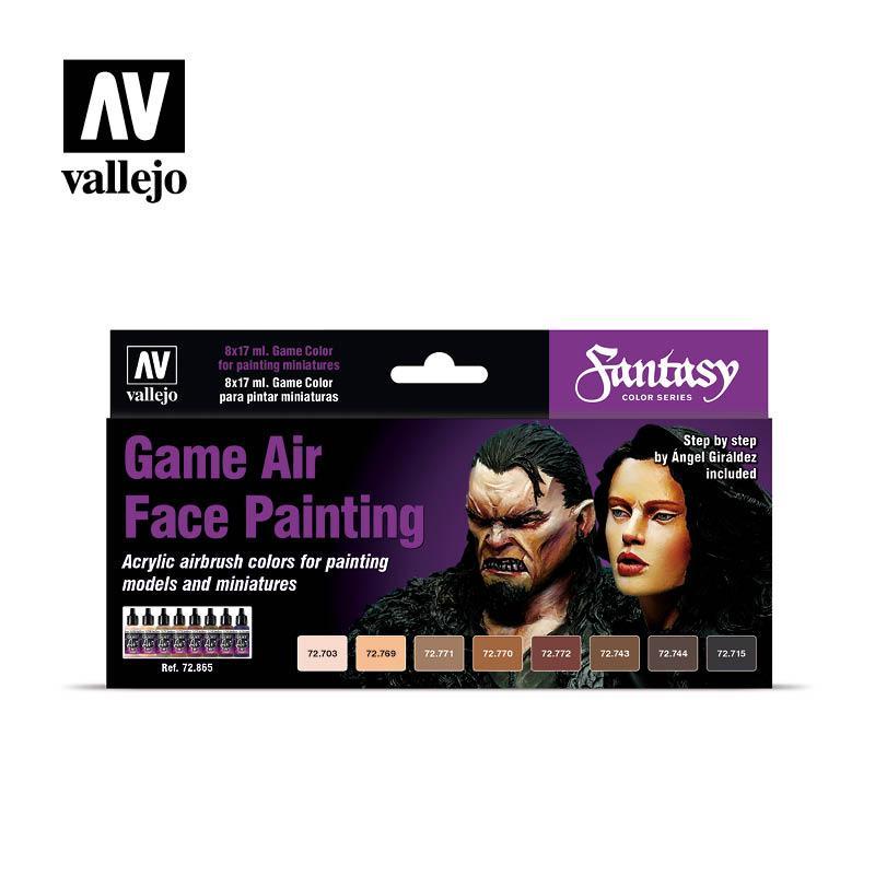 Набор красок для раскраски лиц фигурок. VALLEJO 72865