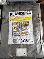 Тент Тарпаулин Plandeka Gruba усиленный 220 г/м2, размер 10х15 м.