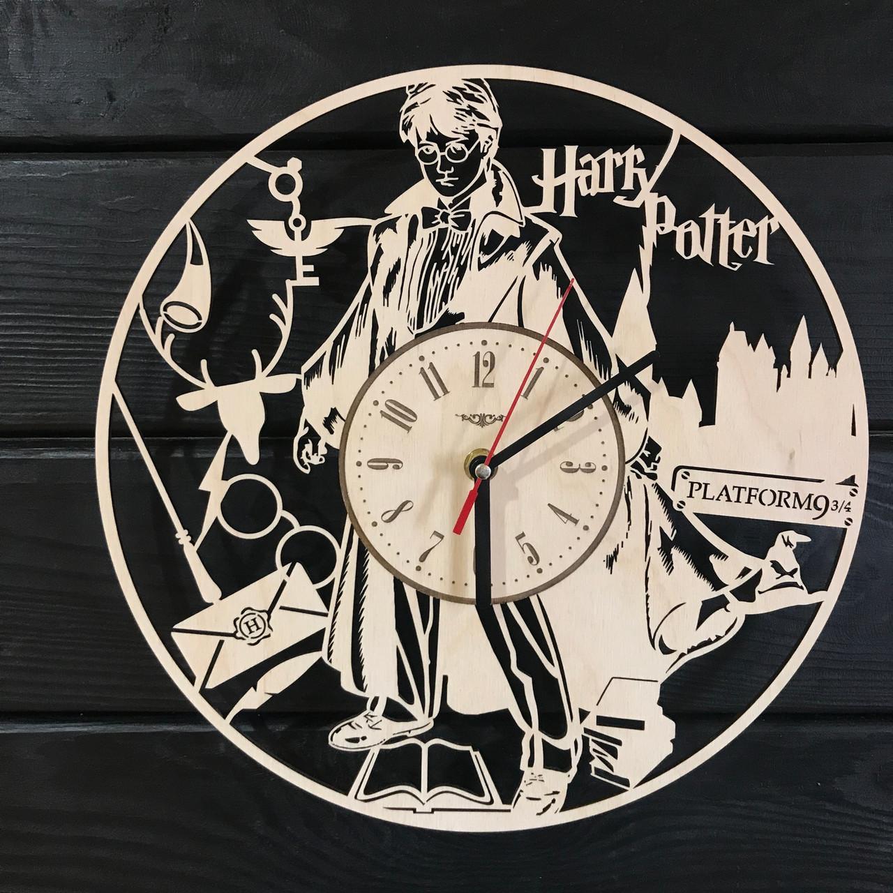 Handmade часы настенные «Магия Гарри Поттера»