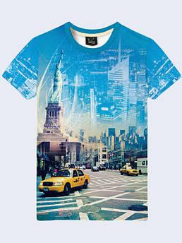 Мужская футболка Нью Йорк