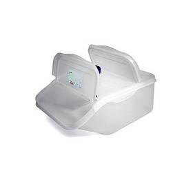 Емкость для хранения с крышкой 22,65 л GN 1/1 Araven 09144 565х340х200мм из полипропилена