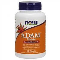 Мультивитаминный комплекс для мужчин NOW_Adam Male Multi - 60 таб.