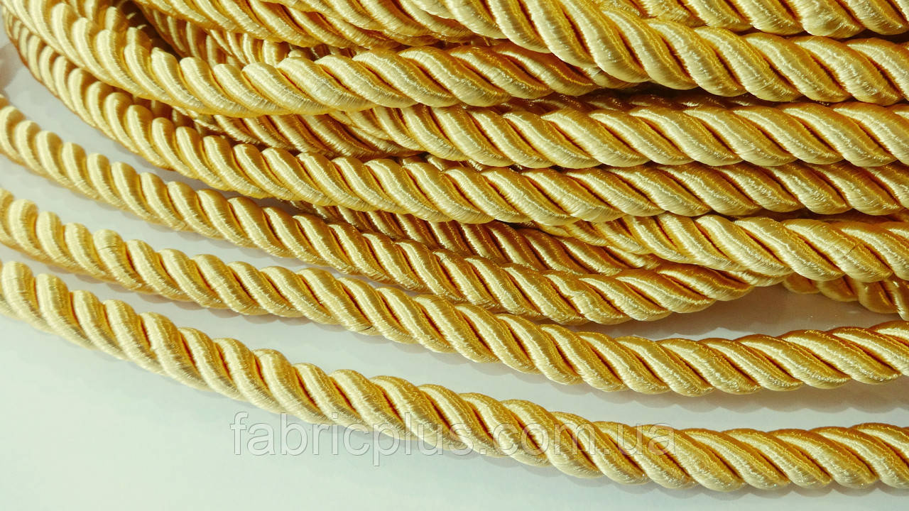 Шнур мебельный 10 мм пшеничный