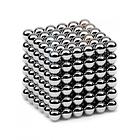 Магнитная игрушка неокуб Toys NEO CUB SILVER магнитные шарики, фото 2