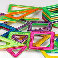 Детский магнитный конструктор Magical Magnet на 48 деталей, Разноцветный, по Украине  , Конструкторы и гоночные треки