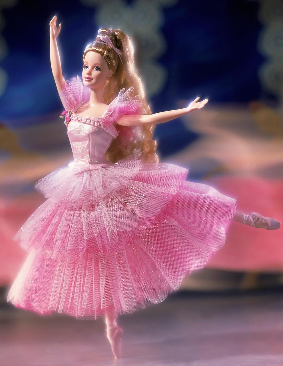 Колекційна лялька Барбі Квіткова балерина Лускунчик