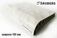 Подоконник Sauberg мрамор глянцевый 100 мм