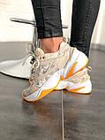 Женские кроссовки в стиле Nike M2K Tekno Desert Camo Snake, Найк М2К Текно (Реплика ААА), фото 2