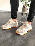 Женские кроссовки в стиле Nike M2K Tekno Desert Camo Snake, Найк М2К Текно (Реплика ААА), фото 3