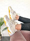 Женские кроссовки в стиле Nike M2K Tekno Desert Camo Snake, Найк М2К Текно (Реплика ААА), фото 4