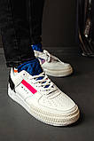 Женские кроссовки в стиле Nike Air Force 1-Type summit white (white), Найк Аир Форс (Реплика ААА), фото 3