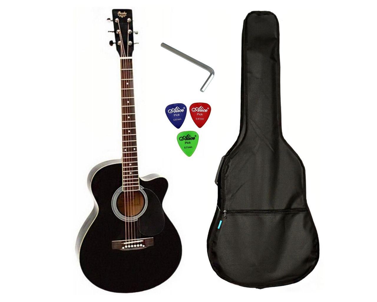 Набір акустична гітара Bandes AG-831C BK 39+чохол