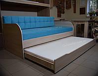 """Детская кровать с выдвижным спальным местом """"Л-10"""", фото 1"""