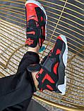 Мужские кроссовки в стиле Nike Air Barrage Mid QS University Red Black (Реплика ААА), фото 5