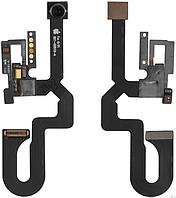 Шлейф iPhone 7 Plus, с фронтальной камерой, 7MP, с датчиком приближения, с микрофоном