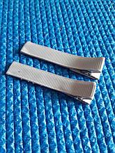 Дитячі шпильки для волосз сірі - 2шт., довжина 5,5 см, ширина 1см