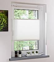L11-120171, Плисированные жалюзи на окно (90*130 см) , белый