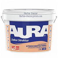 Краска AURA Dekor Struktur структурная, 10 л