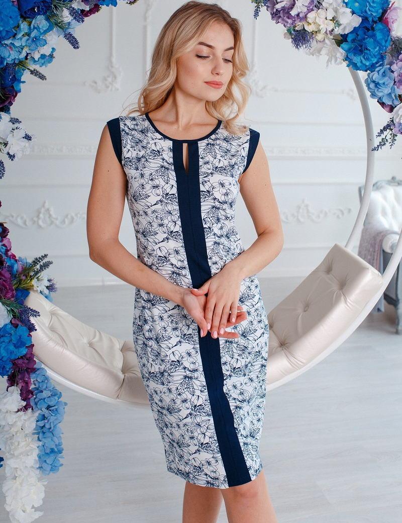 """Женское платье ТМ """"Антана"""". Размеры: M, L, XL, 2XL"""