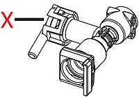 7313219401 Пластиковий зворотній клапан, DeLonghi