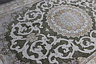 Коврик восточная классика РОКСОЛАНА G145 1,5Х2,25 ЗЕЛЕНЫЙ прямоугольник, фото 4