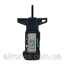 Цифровий вимірювач глибини зносу протектора, вимірювальний інструмент, РК-дисплей