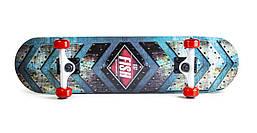 Скейт профессиональный деревянный для трюков Fish Skateboard First из канадского клена до 90 кг Польша