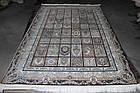 Коврик восточная классика РОКСОЛАНА G139 1,5Х2,25 КОРИЧНЕВЫЙ прямоугольник, фото 4