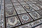 Коврик восточная классика РОКСОЛАНА G139 1,5Х2,25 КОРИЧНЕВЫЙ прямоугольник, фото 2