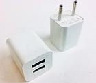 ОПТ Зарядний пристрій мережевий адаптер 2 USB 220 V Кубик, фото 3