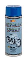 Эмаль-спрей Синяя с эффектом металлика Champion 400мл (Аэрозольная краска чемпион)