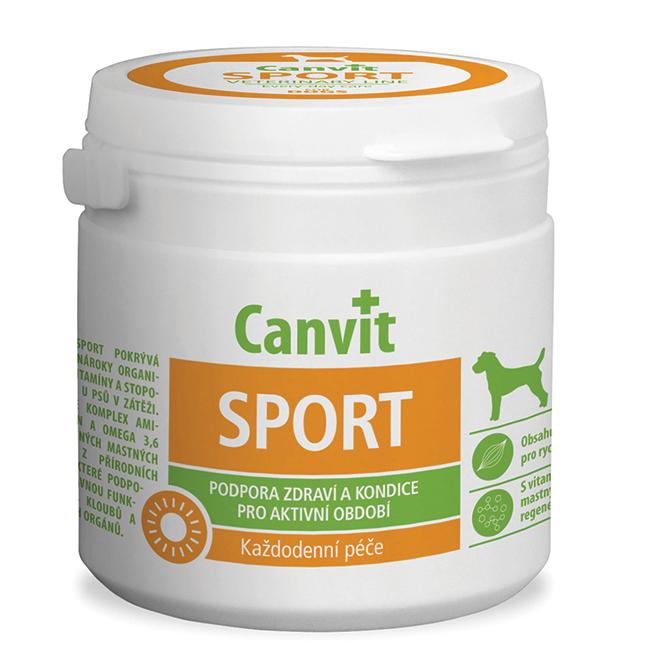 КАНВІТ СПОРТ ДОГ Сanvit Sport for dogs кормова добавка для собак при великих фізичних навантаженнях, 230 таб