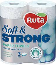 Рушник паперовий Ruta 3-шаровий (2шт)