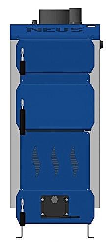 Стальной твердотопливный котел NEUS PRAKTIK 12кВт (Неус-Практик)