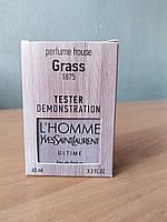 Тестер чоловічий Yves Saint Laurent l'homme Ultime ( Ів Сен Лоран ) 60 мл (репліка)