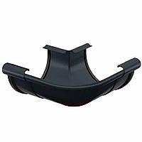 Угол внешний 90° Galeco PVC 150/100 кут зовнішній 90° ринви водостічної RE150-_-LZ090-A