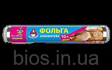 """Фольга алюмінєва СУПЕР МІЦНА 10м/28см """"ДГ"""""""