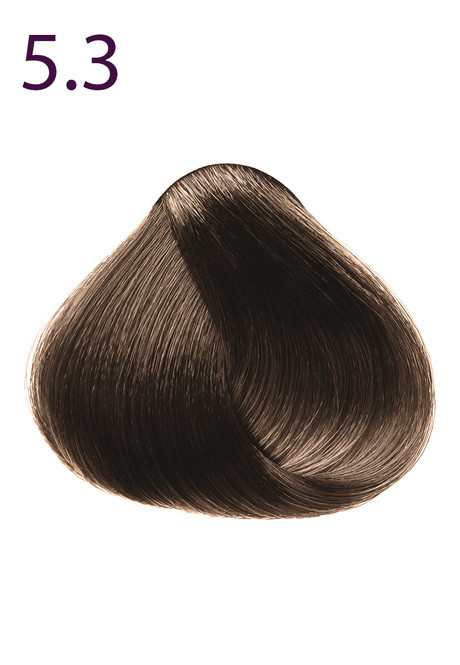 Стойкая крем-краска для волос Максимум цвета серии Expert Color, тон 5.3 Светлый каштан золотистый