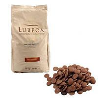 Шоколад молочный кувертюр Lubeca IVORY COAST 35% в виде калет 1 кг