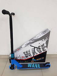 Трюкової самокат Explore WAVE SUPER Синій ( колеса Алюміній )
