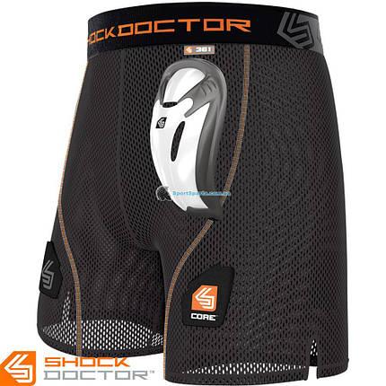 Защитные шорты с ракушкой SHOCK DOCTOR SD-361, фото 2