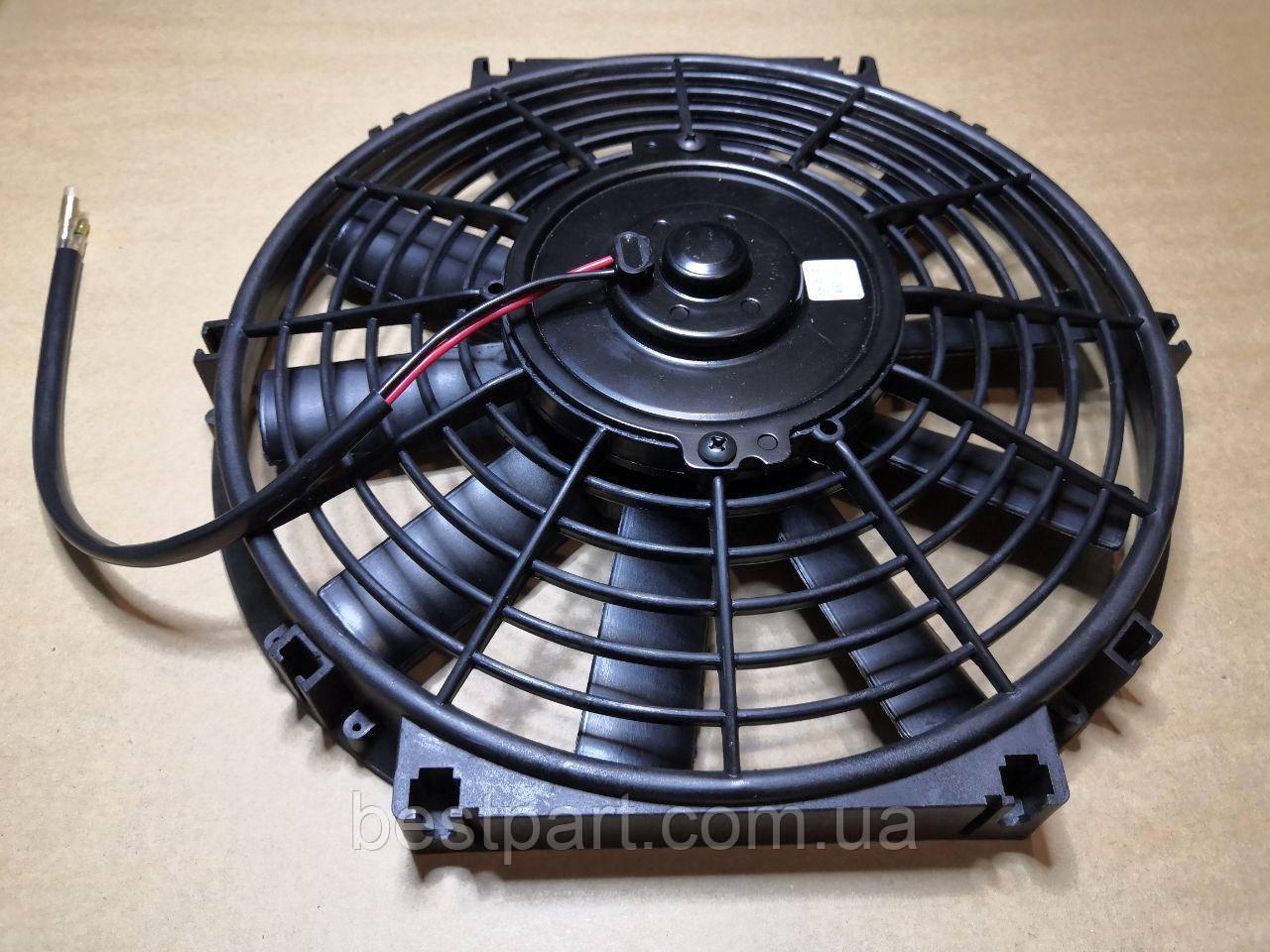 """Вентилятор 10"""", 12B, 100W штовхаючий"""