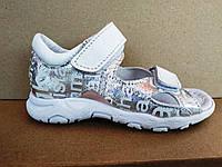 Босоніжки шкіряні сандалі дитячі 23 - 30 р-ри, фото 1