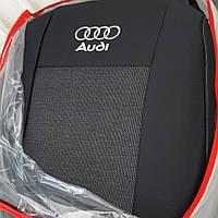 """Чехлы """"Favorite"""" польские на AUDI Q3 2011р.(airbag, сп. 1/3, передн. підлок., 5 підгол.)"""