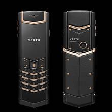 Мобильный телефон Vertu S9+ signature black gold