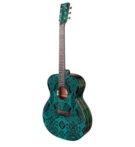 Електроакустична гітара Tyma V-3 Maze