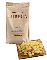 Масло какао дезодорована в каллетах Lubeca 1 кг