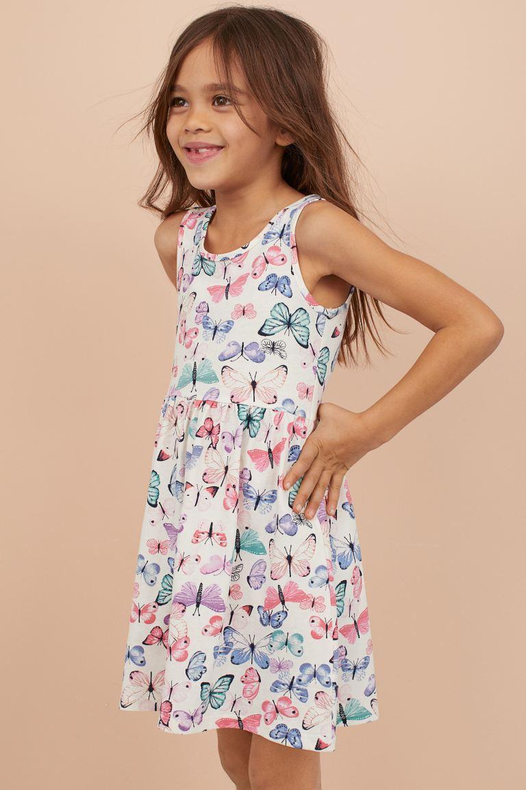 "Платье сарафан H&M ""Бабочки""  для девочек"